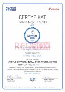 Certyfikat 1 CELCO Grzegorz Pietruch